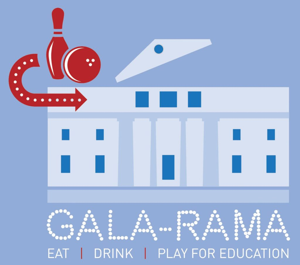 Gala-Rama logo 2017 -- annual fundraising event for the Brookline High School Innovation Fund