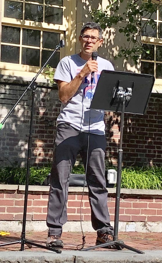 Roger Grande, 2019-2020 Innovation Fellow for the BHS Innovation Fund